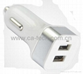 iPhone iPad Samsung Dual USB Car Charger 5V 2.1A