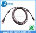 High Speed HDMI cable with 2 cores (HDMI A type to C type),Mini HDMI cable Hot!