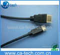 High Speed HDMI cable  (HDMI A type to C type),Mini HDMI cable Hot!