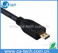 迷你接口(Micro接口)高清晰多媒體HDMI數,1.3B版