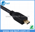 High speed Micro HDMI cable with ethernet (HDMI A type to HDMI D type) Hot!