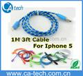 Nylon braid   iPhone8 cable