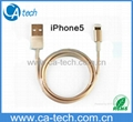 Gold iPhone6s cable iphone6 cable iphone5s cable