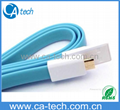 New USB iPhone 5  Cable  USB 8PIN Charging Noodle Cable