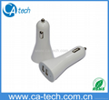 Dual USB 5V 3.1A  Car Charger For iPhone4 5 iPad  1
