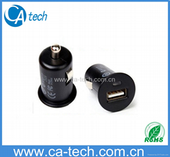 iPhone Samsung Mini USB Car Charger