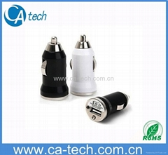 MINI USB Car Charger For iPhone 5V 1000MA