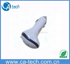 High Quality iPhone USB Car Charger 5V 1000MA