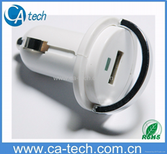 MINI USB Car Charger For ipod/iPhone/iPad/cell phone /MP4