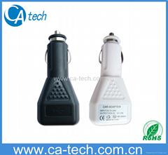 USB三角形車充 USB車充充電器 手機車載充電器