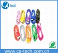 iPhone 4s Fabric Braided Cable With  Nylon Braided USB Cable 1