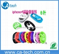 Colorful usb data charger cable for Apple/iPad for iPhone cable