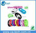 彩色蘋果4數據線 iphone4s usb充電線 6芯 3G ipad充電線