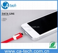 Noodle Flat USB 8 Pin Sync Data Charging  iPhone 5 5S 5C Cable, Lighting Cable