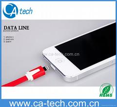 小面条苹果USB 数据线 ,苹