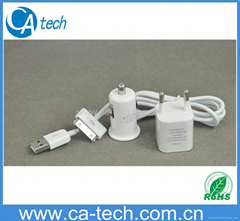 iPhone 4S  3 in 1 Charger Kits