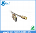 gold cable for iphone5s gold, made in china, for iphone5 usb data cable with hig