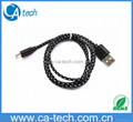 OEM Colorful Micro Braided USB Cable For