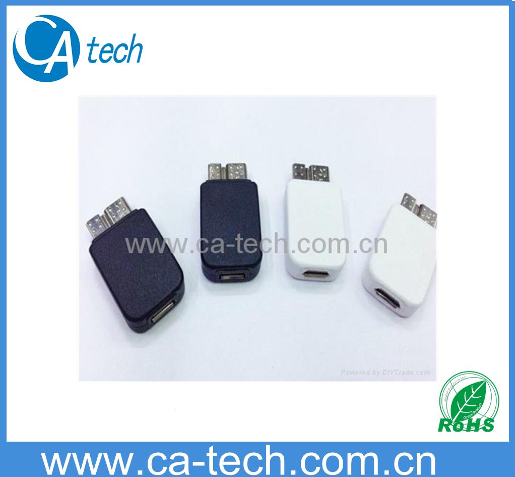 三星手机 Note3 N9000 Micro USB3.0转接头 Micro转接头 USB3.0转接头 1