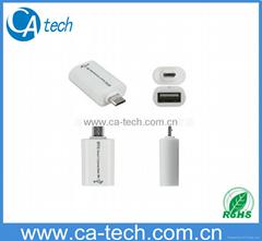 OTG三星手机连接器 U盘转接器 OTG转接器
