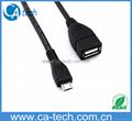 Micro USB OTG Data Cable Samsung Galaxy S4 i9500 S3 i9300 S2 i9100