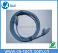UTP CAT6 Patch Cord CAT6 Flat Ethernet Cable 2M with UL certification 1