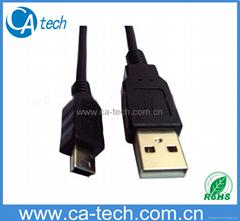 USB2.0 MINIi5P 數據線 數碼相機線