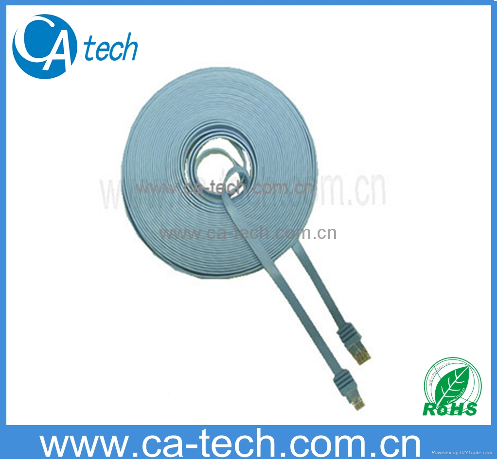 cat6类扁平电脑跳线千兆网线无氧铜网络线成品六类双绞网线 1