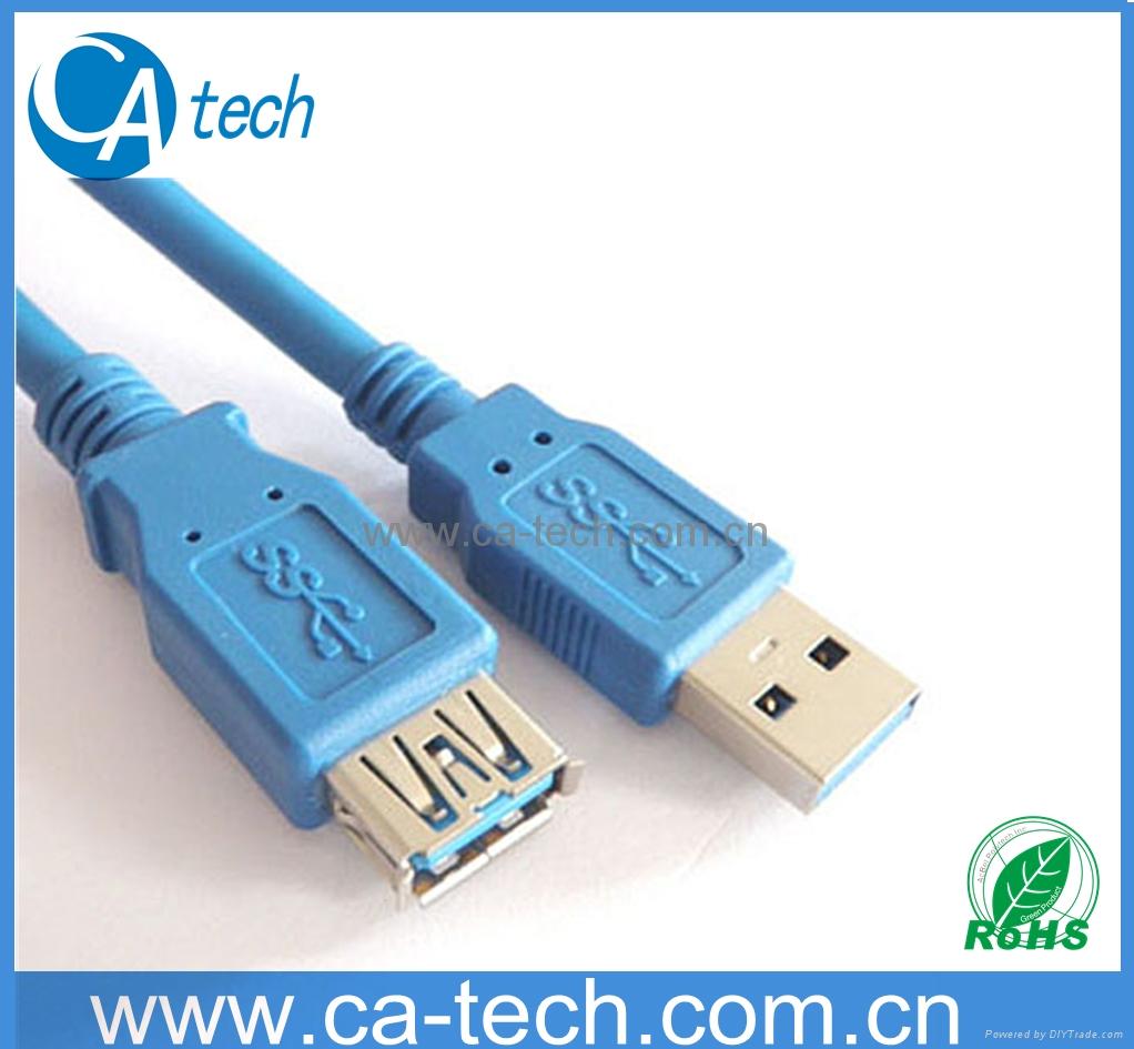 USB3.0延长线 USB3.0数据线USB3.0 AM 对USB3.0AF延长连接线 1