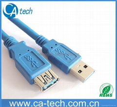 Super speed USB3.0 Extension cable USB3.0AMTO USB3.0 AF 5Gbps supper spee