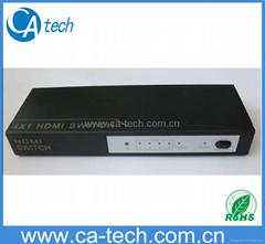 4 進1出 HDMI 切換器  V1.3B
