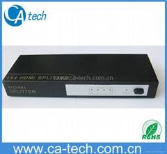 HDMI SPLITTER V1.3B, 1 in 4 out HDMI SPlitter V1.3B