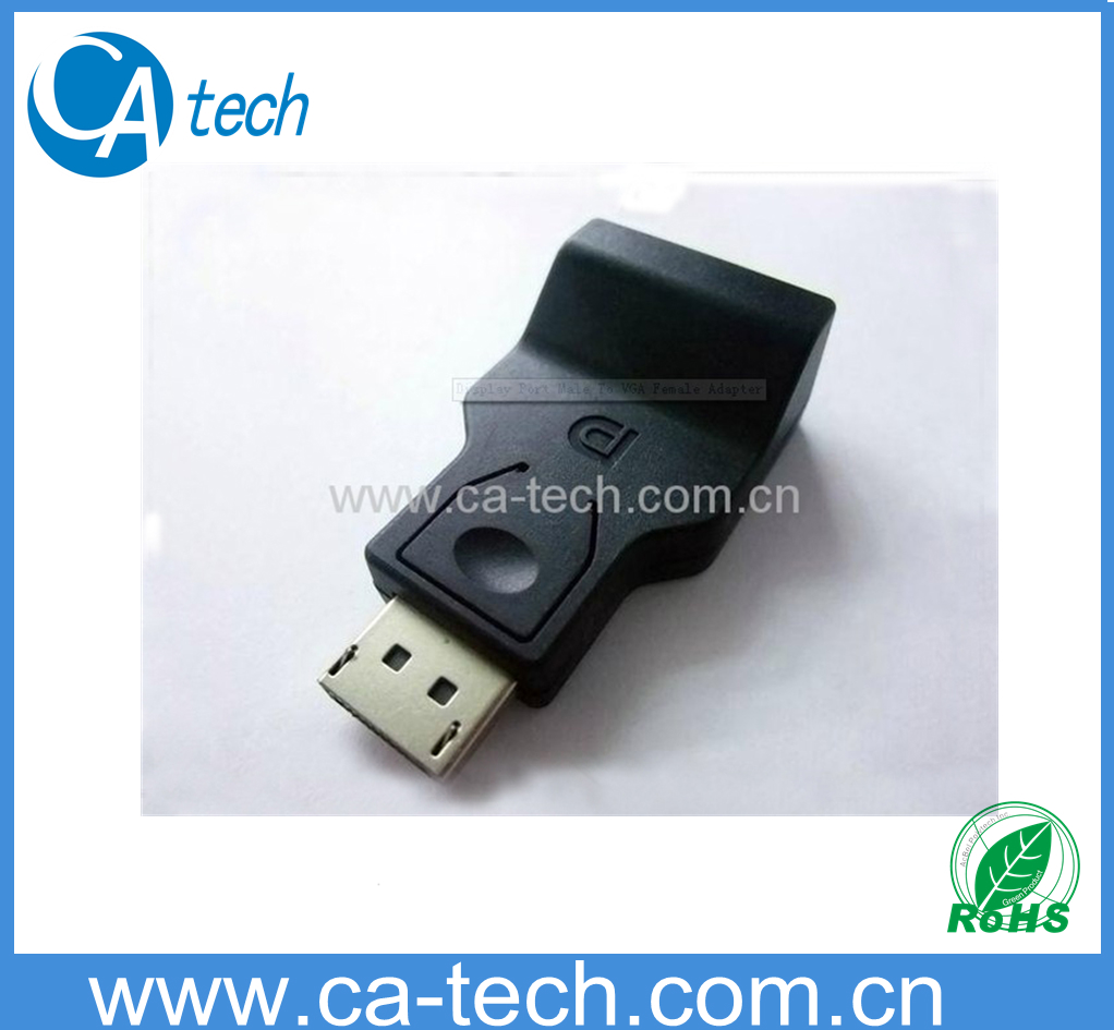 Display Port To VGA (F) 转接头 1