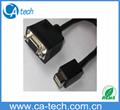 MINI DVI   TO VGA Cable