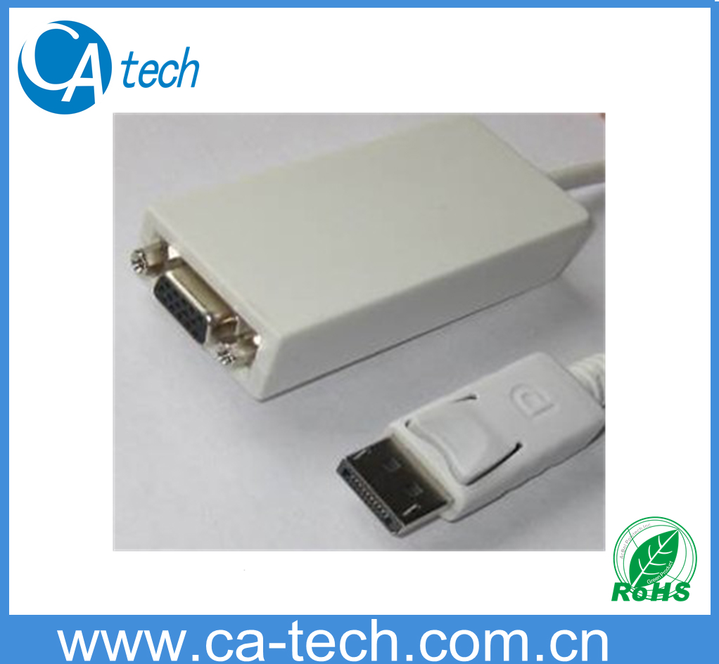 Display Port Male TO VGA Female Cable