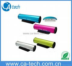Tube Sound Box Portable Speaker For MP3/Notebook