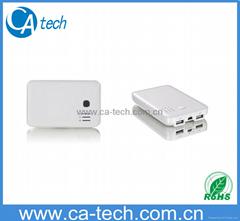 10000mAh Dual USB Power Bank  For iPad iPhone/MP3/MP4/Mobile