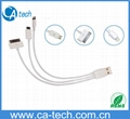 Multi Function 3 in 1 usb cable for