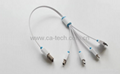 Multi Function 4 in 1 USB charging cable