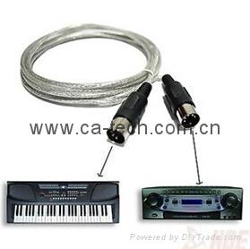 高质量标准电子琴线 1