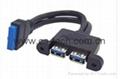 主板USB 3.0 20pin