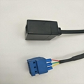 RJ12 PLUG 6P3C TO terminal block 5.0mm pitch 3Pin cable assembly