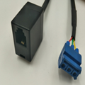 RJ12  6P3C to 连接线端子5.0MM 3PIN 2