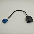 RJ12  6P3C to 连接线端子5.0MM 3PIN 4