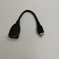 USB2.0  A female to mini USB 5pin B male OTG cable