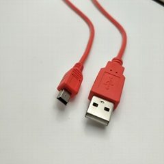 MINI USB CABLE/USB2.0 MINI5P Cable For MP3 /MP4/ Camera/Cell Phone