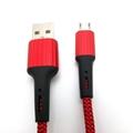 Nylon Braid Micro USB Data Charging  Cable
