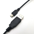High Speed Black 1.8m USB 2.0 A Male to Mini 5 pin USB Cable