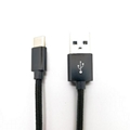 USB 2.0 A male to type c male Nylon braid cable