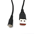 Hot Selling Nylon Braided 3 in 1 Magnetic  USB Charging Cable